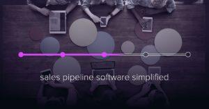Sales pipeline software